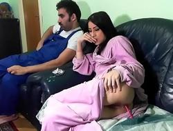 GOZANDO DO LADO DO PAI, mais videos dela: xxx  porn wzok3u