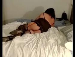 Devora sexosa en cama