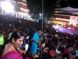 Aunty ass dance in concert more visit indianvoyeur xnxx