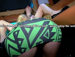GIRLS GONE WILD - These Teen Lesbians Are Young, Slippery and Wet!
