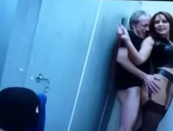 Mom Takes Dad To A London Toilet Watch Her Getting Fucked. See pt2 at goddesshee