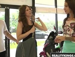 RealityKings - Money Talks - (Esmi Lee, Kendra Cole, Levi Cash) - Panties Down