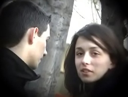 Bulgarian Sexy and Hot Brunette from Plovdiv Ride Boyfriends Cock on Bench Kissing Licking and Fondling - Lucky Future Husband Who Will Own Such Dynamite - Part 3