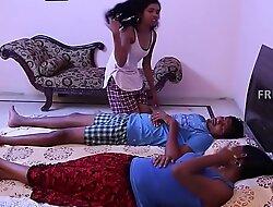 Full-grown bhabi fucking romance kissing sex to room
