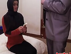 Dicksucking arab beauty bouncing on big weasel words