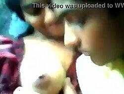 Indian teen girl gut sucked by boyfriend