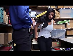 Muslim legal age teenager down huge titties flop stealing non-native a store